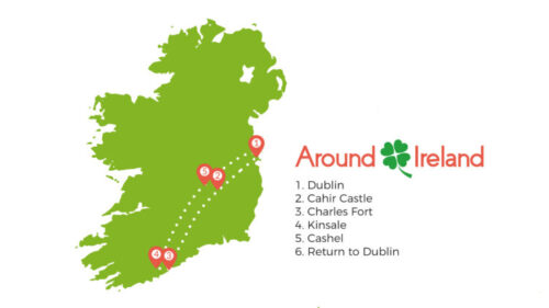 Kinsale and castles - Premium Day Tour from Dublin
