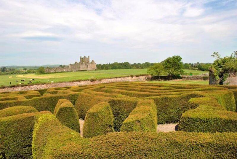 dunbrody-abbey-maze