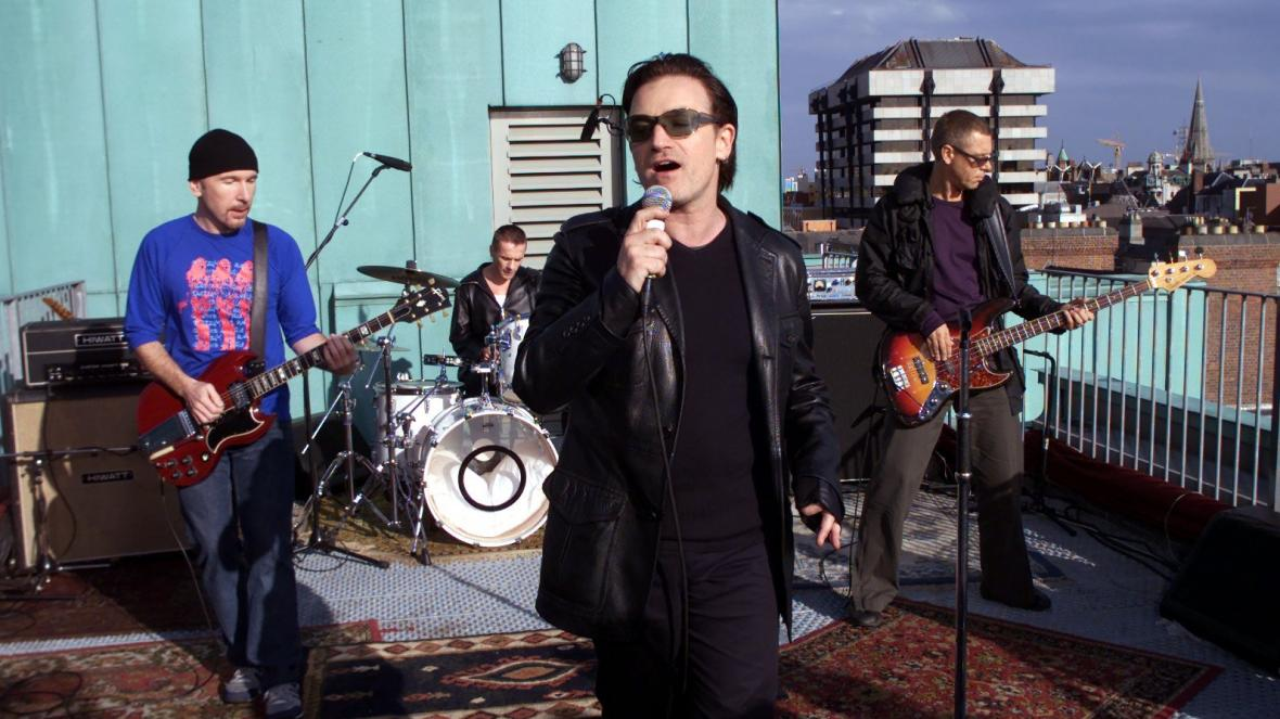 U2 The Clarence Rooftop recorder Beautiful Day