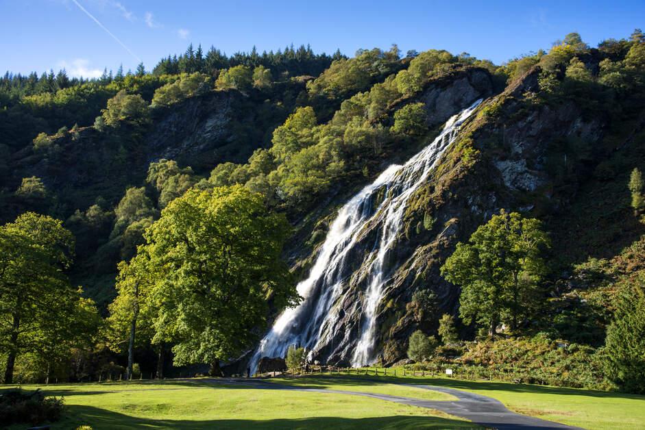 Powerscourt Waterfall View
